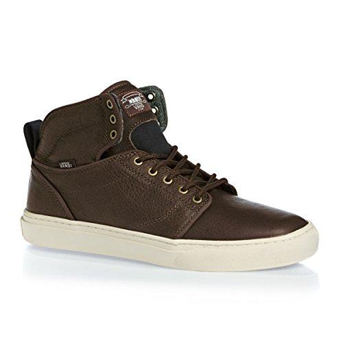 Vans M Alomar, Chaussures en Forme de Bottines Homme Marron