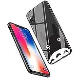 LiangChu 9h Le Verre trempé iphone x/XS, lc-23 Mon Voisin Totoro Conception Impression antichocs Silicone Anti - zéro Mou pour Apple iphone TPU Couvrir téléphone x/XS