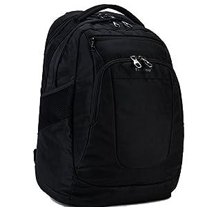 41dLYN 0AlL. SS300  - Fubevod Mochila para el de 15,6 Pulgadas Portátil de negocios Multifunción Mochila de bolsa de viaje Negro