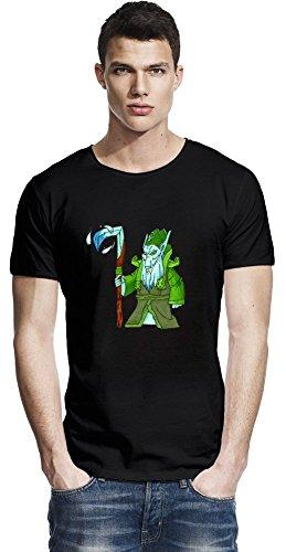 Dota 2 Hero Necrophos Raw Edge T-shirt Large