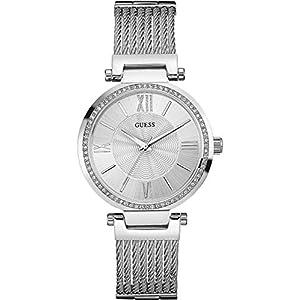 Guess–Reloj para mujer Ladies Dress acero (w0638l1) talla talla única