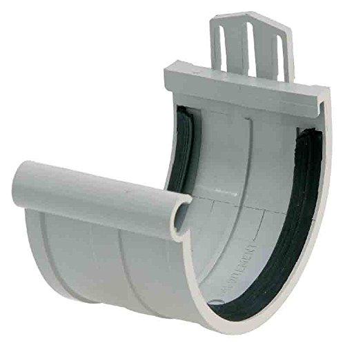 Girpi - Jonction de gouttière PVC gris toiture
