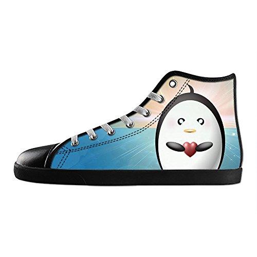 Dalliy pinguin Men's Canvas shoes Schuhe Footwear Sneakers shoes Schuhe (Justin Herren-bay)