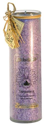 Palm Light 4041678000813 Chakra, Sahasrara, Höhe Circa 20 cm, Kerze, violett