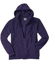 Chaqueta Microfleece con capucha Chaqueta de lana Hombre