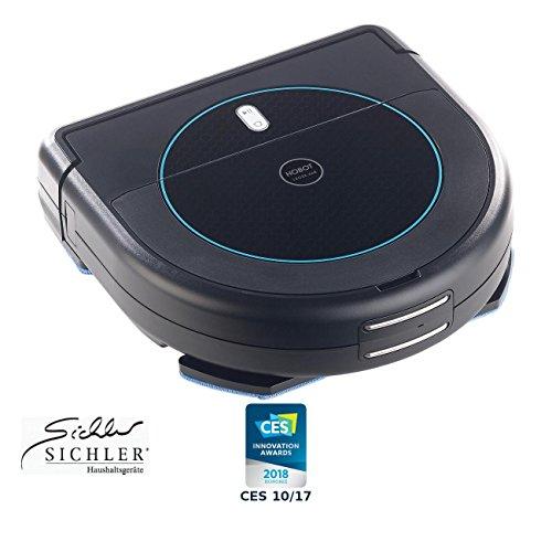 *Sichler Haushaltsgeräte Wischroboter: Multiroom-Saug- & Wisch-Roboter mit 4-Phasen-Reinigung & Ladestation (Saug und Wischroboter)*