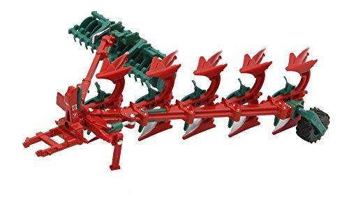 Preisvergleich Produktbild TOMY Britains - Kverneland Pflug und Packomat - Bauernhof Spielzeug mit drehbaren Pflugscharen - für Kinder ab 3 Jahre - perfekt zum Spielen und Sammeln