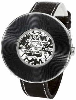 Moschino MW0010 - Reloj unisex de cuarzo (japonés), correa de caucho color varios colores