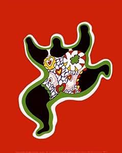 Reproduction d'art 'Nana Power', de Niki De Saint Phalle, Taille: 24 x 30 cm