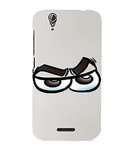 PrintVisa Cool Cartoon Emotion 3D Hard Polycarbonate Designer Back Case Cover for Acer Liquid Jade Z630