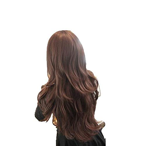 Xiton Frauen-Perücke Party Mode Haarteil gewellte lange Perücken Schöne Cosplay Perücke natürliche lange gelockte voller Kopf Perücke Trendy Haarschmuck für Mädchen-Frauen - ()