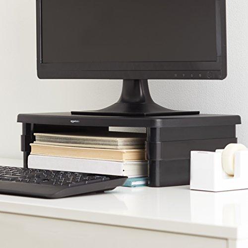 AmazonBasics - Supporto per monitor regolabile