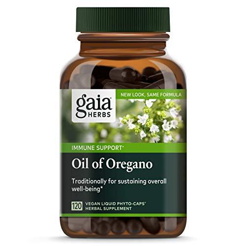 Öl von Oregano, 120 Veggie Flüssigkeit Phyto-Caps - Gaia Kräuter - Gaia Kräuter