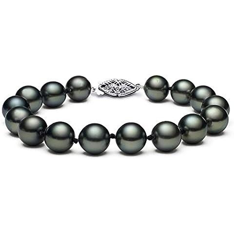 8-11 mm, oro 14 k, con perle