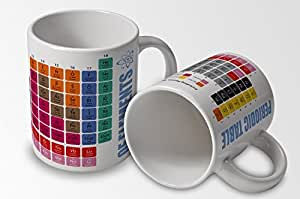 Periodic Table of Elements - Mug Cup by verytea