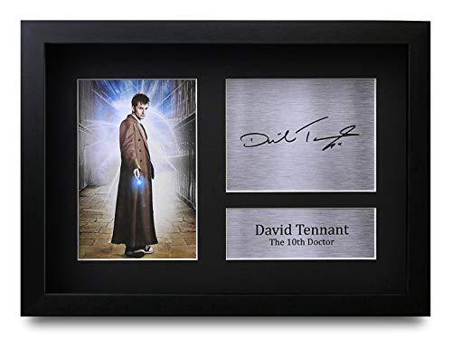 HWC Trading David Tennant (GERAHMTES) Geschenke Unterzeichneten A4 Gedrucktes Autogramm Doctor Dr Who Foto-Anzeige -