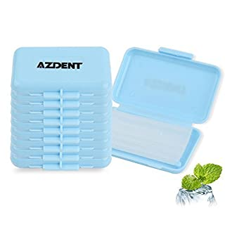 AZDENT® Orthodontic Bracket Protector Dental Wax Strips for Braces Wearer-(10 Boxes Included)