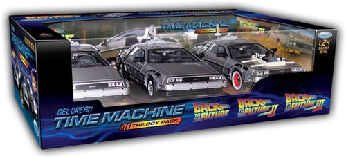 Welly Back to Future Trilogia Set