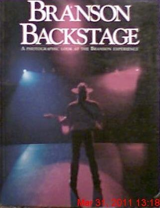 Branson Backstage: A Photographic Look at the Branson Experience