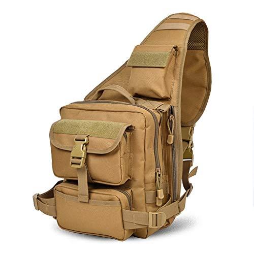JFFFFWI es lohnt Sich Brust Mehrzwecktasche Freizeittasche Umhängetasche Herrentasche Umhängetasche IPAD Outdoor Brusttasche Enjoy Life 25L (Charme Für Das Ipad)