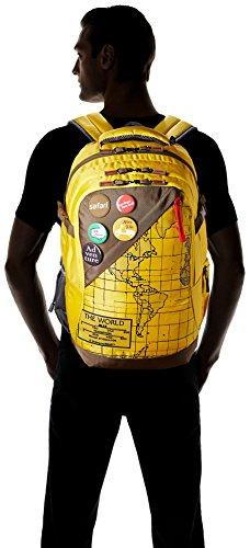 Safari 42 Ltrs Yellow Laptop Backpack (Atlas Yellow) Image 5
