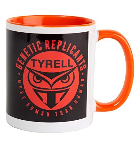 Blade Runner Inspired Tyrell Orange Handle Mug