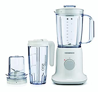 Kenwood BL237 3-in-1 Blender with Smoothie to Go, 1 L, 350 W - White