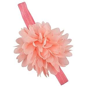 Big Flower Headband - Peach