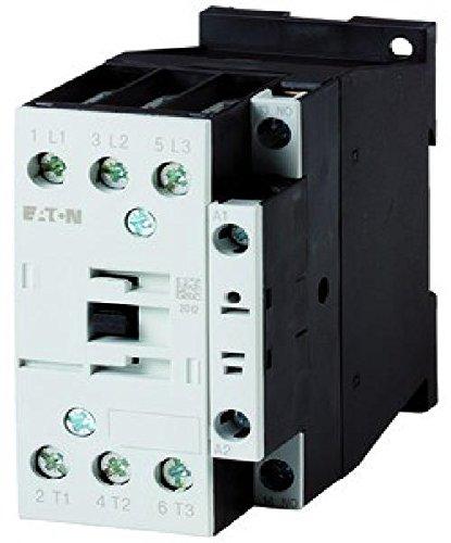 Eaton 277146 Leistungsschütz DILM25-10(RDC24) 3-Polig 1 Schließer, 11kW/400V/AC3, DC-Betätigt -