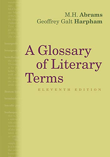 A Glossary of Literary Terms par Geoffrey Galt Harpham