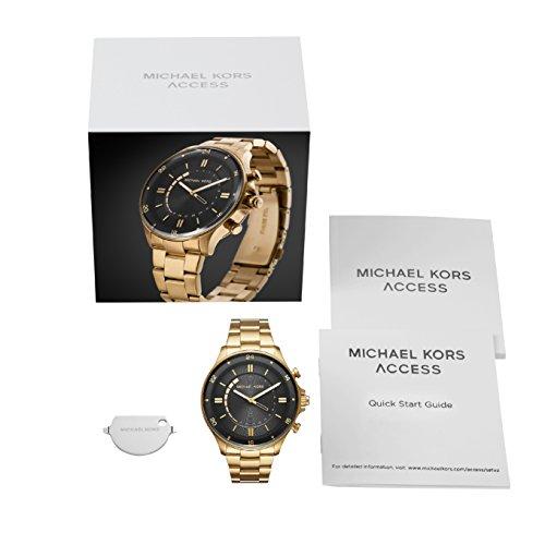 רק החוצה שעון חכם לגבר זהב מהמם מבית מייקל קורס - Michael Kors Men's Watch FD-62