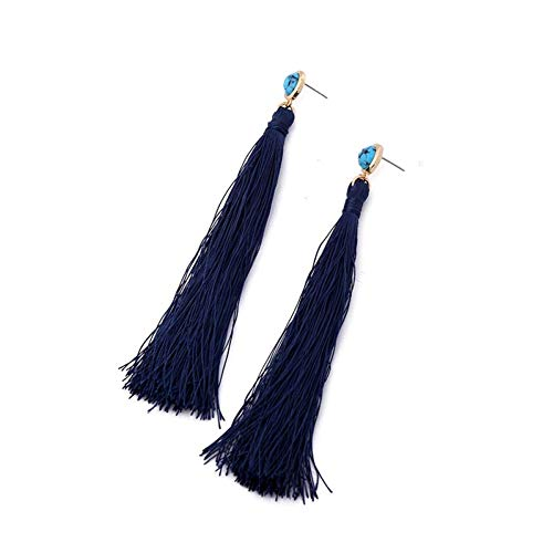 WOVP Ohrringe Quaste Ohrringe Modeschmuck Ohr Piercing Frauen Lange Ohrringe