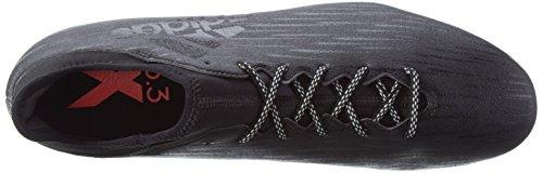adidas X 16.3 Fg, Chaussures de Football Compétition Homme Noir (Core Black/Core Black/Dark Grey)