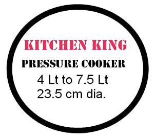 Kitchen King Stainless Steel Pressure cooker gasket 4 to 7Lt
