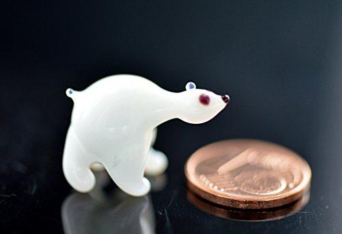 Eisbär–Figura decorativa de cristal (en miniatura–Cristal