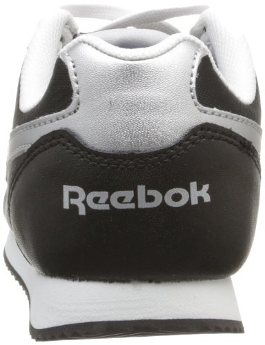Reebok Royal Cljogger, Baskets mode mixte enfant Noir (Black/Silver/White)