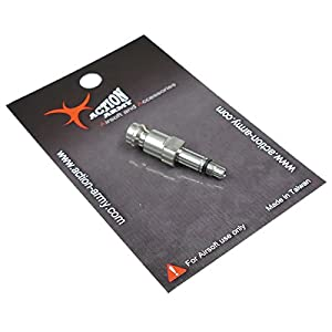 Action Army HPA Stainless Steel Pistol Valve Adapter