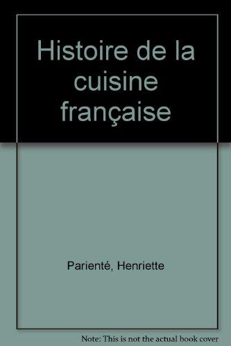 Histoire de la cuisine francaise