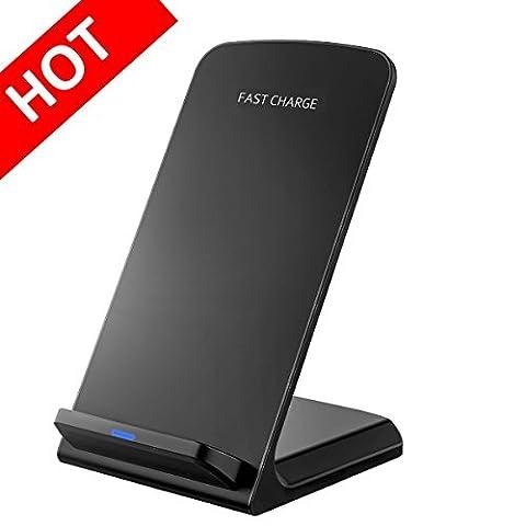 Chargeur Rapide Sans Fil, Pictek Chargeur d'induction Rapide Wireless Charger