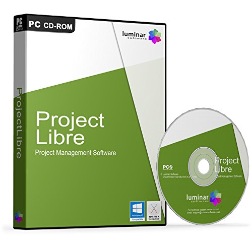 ProjectLibre - Project Management Software - Microsoft Project Replacement (PC & Mac) - BOXED AS SHOWN Test