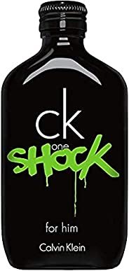 Calvin Klein Perfume - CK One Shock by Calvin Klein - Perfume for Men, 200 ml - EDT Spray