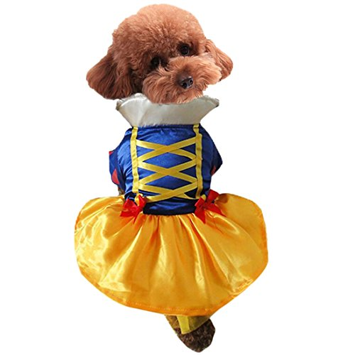 Adorable Prinzessin Dog Pet Hoodie Kleidung Halloween Hund Kostüm Plus Size Suit Teddy Dressing bis Party Bekleidung Bekleidung (Den Size Plus Kostümen In Katze Hut)