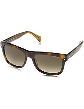 Tommy Hilfiger Unisex Wayfarer Sonnenbrille TH 1254/S 7B, Gr. 54 mm