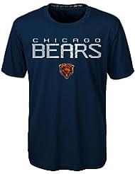 """Chicago Bears Youth Jeunes NFL """"Helix"""" Performance Short Sleeve T-Shirt Chemise"""