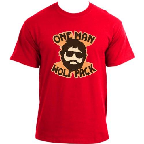 Hangover One Man Wolfpack T-Shirt ~ Alan Wolf Pack Tee