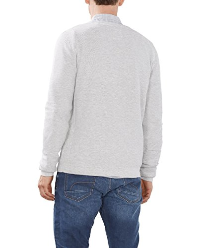 edc by Esprit 086cc2i011, Pull Homme Gris (LIGHT GREY 040)
