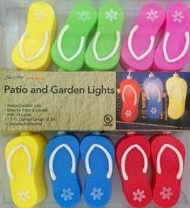 Sienna Summer Nights-Flip-flop Terrasse Garten Licht Lichterkette
