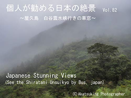See the Shiratani Unsuikyo by bus: See the Shiratani Unsuikyo by bus Japanese Stunning Views (Japanese Edition)