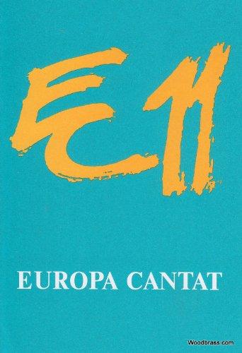 Europa Cantat 11: Vitoria/Gasteiz 1991. gemischter Chor a cappella.
