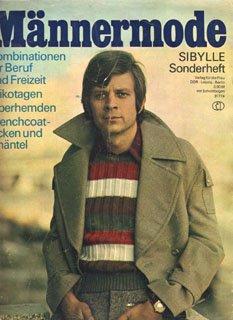 Sybille Männermode 1972 Sonderheft Mode Verlag für die Frau